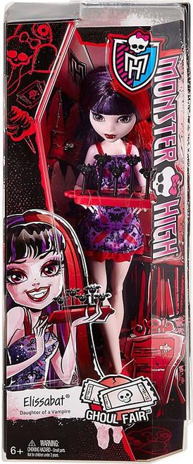 Monster High Ghoul Fair Elissabat 10.5-Inch Doll