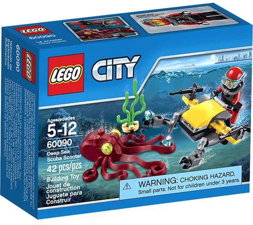 LEGO City Deep Sea Scuba Scooter Set #60090