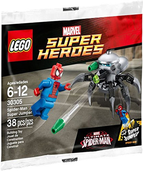 LEGO Marvel Super Heroes Ultimate Spider-Man Spider-Man Super Jumper Set #30305 [Bagged]