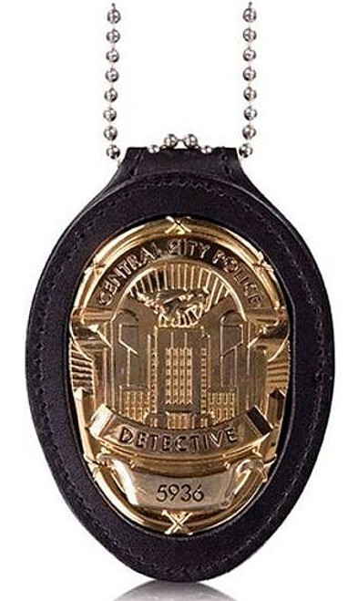 The Flash Central City Police Badge 3.5-Inch Prop Replica