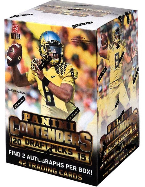 NFL Panini 2015 Contenders Draft Picks Football Trading Card BLASTER Box [42 Cards, 2 Autographs]