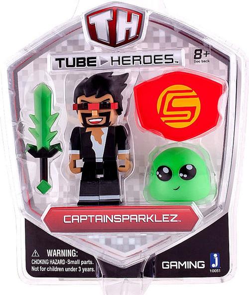 Tube Heroes CaptainSparklez Action Figure