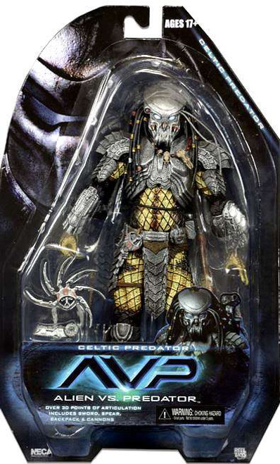 NECA Alien vs. Predator Series 14 Celtic Predator Action Figure