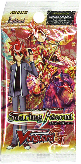 Cardfight Vanguard G Soaring Ascent of Gale & Blossom Booster Pack VGE-G-BT02
