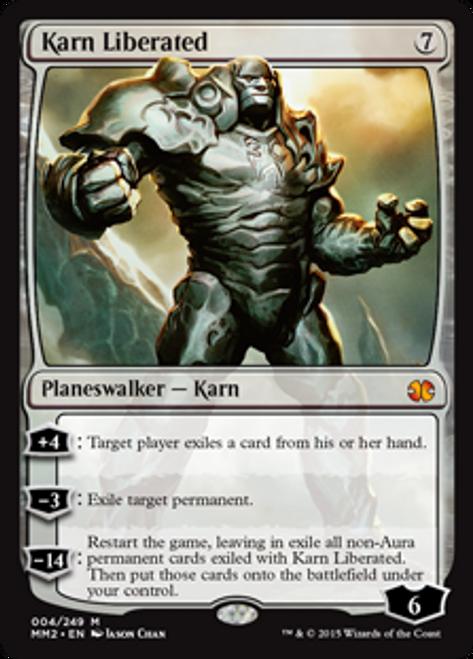 MtG Modern Masters 2015 Mythic Rare Karn Liberated #4