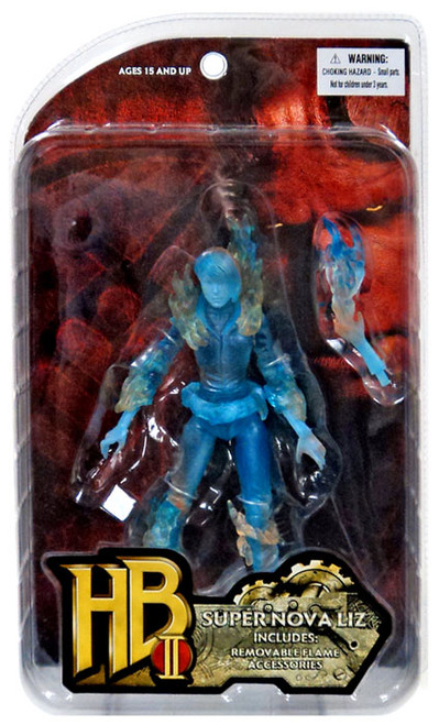 Hellboy 2 The Golden Army Series 1 Super Nova Liz Action Figure [Translucent Blue]