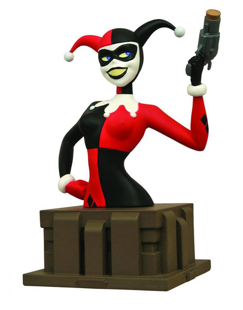 Batman The Animated Series Harley Quinn 6-Inch Mini Bust