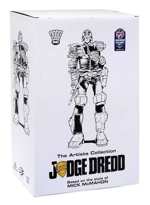 Mike McMahon Judge Dredd Exclusive 8-Inch Statue 3-Pack
