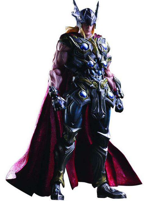 Marvel Avengers Variant Play Arts Kai Thor Action Figure