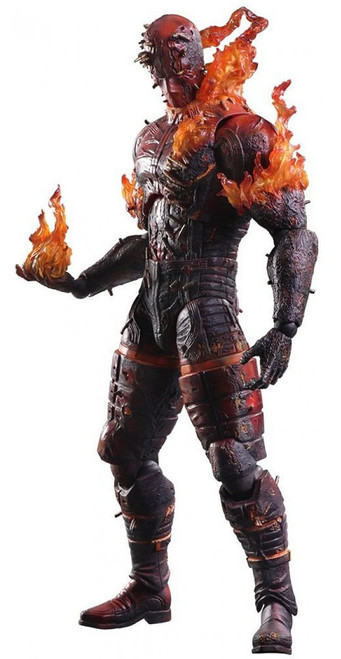 Metal Gear Solid V: The Phantom Pain Play Arts Kai Burning Man Action Figure