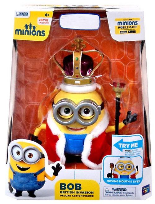 Despicable Me Minions Movie British Invasion Bob Exclusive Deluxe Action Figure