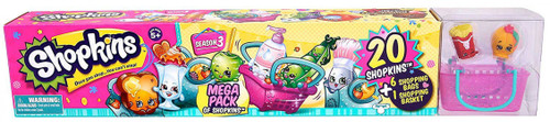 Shopkins Season 3 Mega 20-Pack