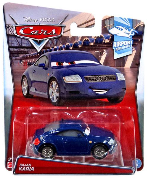 Disney / Pixar Cars Airport Adventure Sajan Karia Diecast Car #1/6