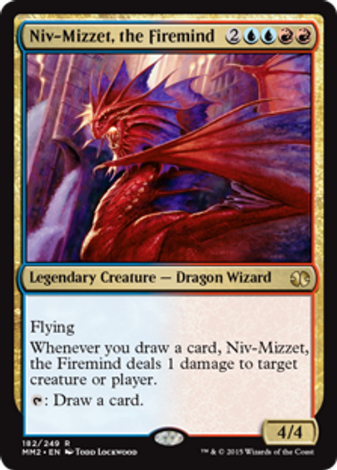 MtG Modern Masters 2015 Rare Niv-Mizzet, the Firemind #182