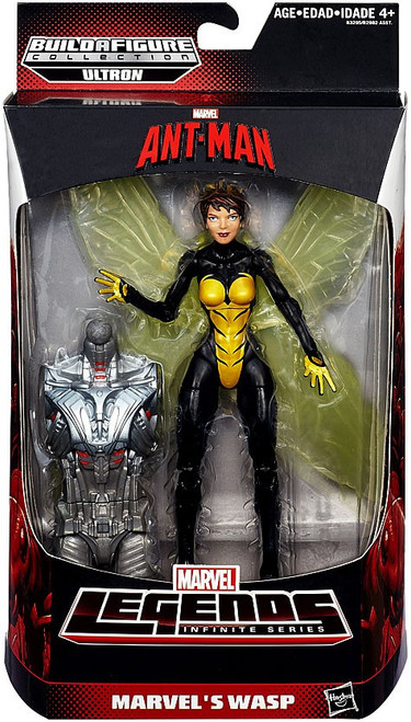 Ant Man Marvel Legends Ultron Series Wasp Action Figure