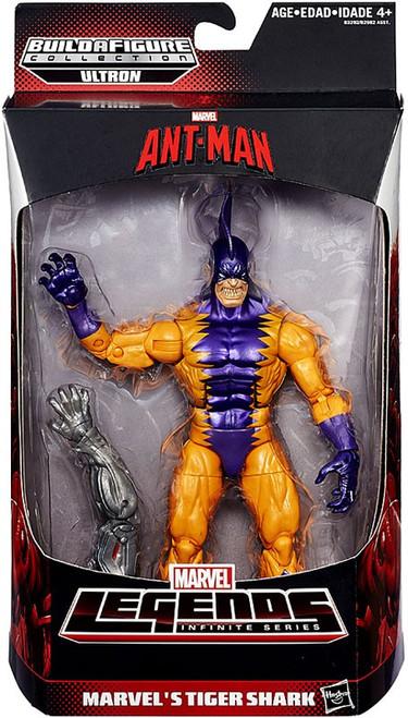 Ant Man Marvel Legends Ultron Series Marvel's Tiger Shark Action Figure