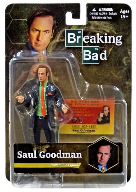 Breaking Bad Better Call Saul Saul Goodman Exclusive Action Figure [Green Shirt]
