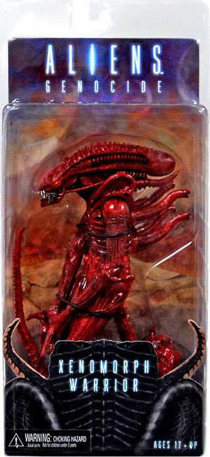 NECA Aliens Series 5 Red Genocide Warrior Action Figure