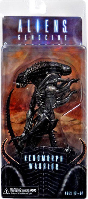 NECA Aliens Series 5 Black Genocide Warrior Action Figure