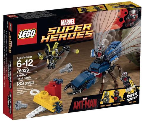 LEGO Marvel Super Heroes Ant-Man Final Battle Set #76039