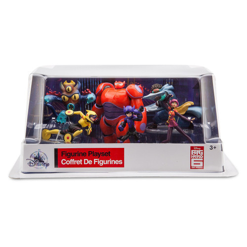 Disney Big Hero 6 Exclusive 6-Piece PVC Figure Play Set