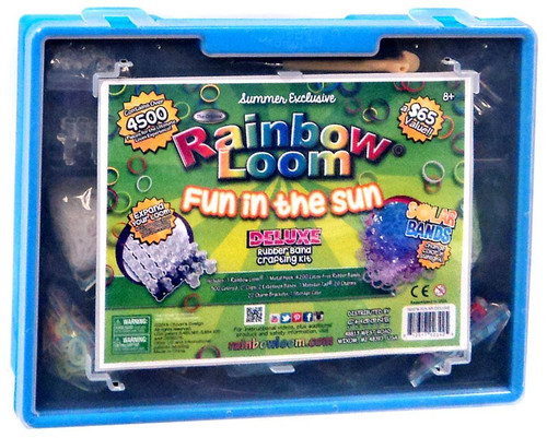 Rainbow Loom Solar Deluxe Fun in the Sun Rubber Band Crafting Kit