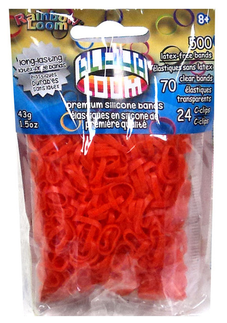 Rainbow Loom Alpha Loom Orange Rubber Bands Refill Pack [500 Count]