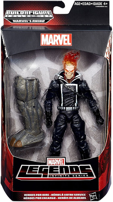 Spider-Man Marvel Legends Rhino Series Ghost Rider Action Figure [Johnny Blaze]