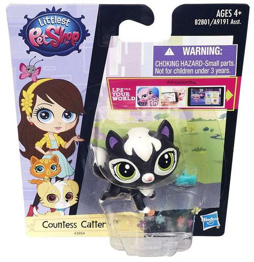 Littlest Pet Shop Singles Countess Cattery Figure #3954 [Kitten]