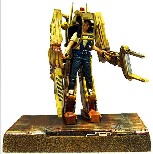 Aliens SF Movie Selection Japanese Collectors Power Loader PVC Figure