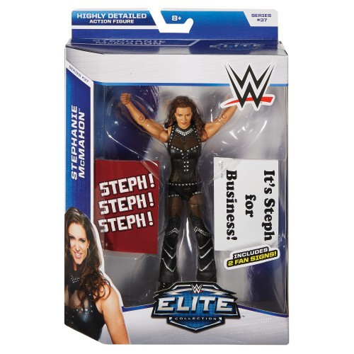 WWE Wrestling Elite Collection Series 37 Stephanie McMahon Action Figure [2 Fan Signs]