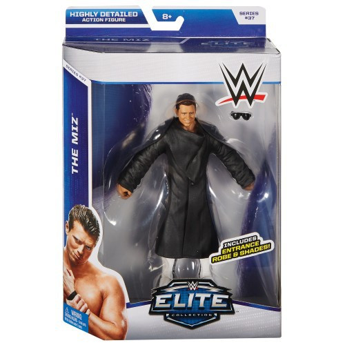WWE Wrestling Elite Collection Series 37 The Miz Action Figure [Entrance Robe & Shades]