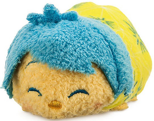 Disney Inside Out Tsum Tsum Joy Exclusive 3.5-Inch Mini Plush