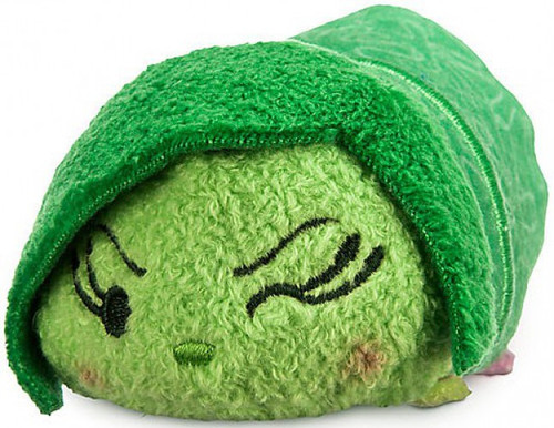 Disney Inside Out Tsum Tsum Disgust Exclusive 3.5-Inch Mini Plush