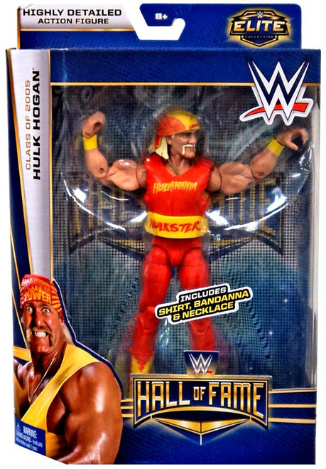 WWE Wrestling Elite Collection Hall of Fame Hulk Hogan Action Figure [Shirt, Bandanna & Necklace]