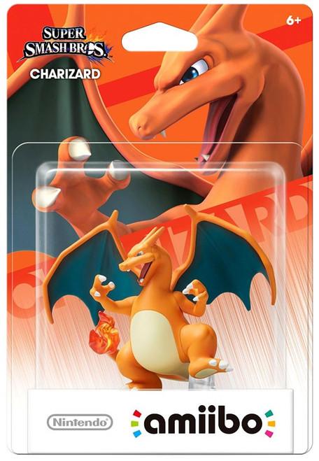 Nintendo Super Smash Bros Amiibo Charizard Mini Figure