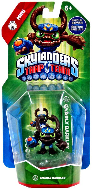 Skylanders Trap Team Minis Gnarly Barkley Figure Pack