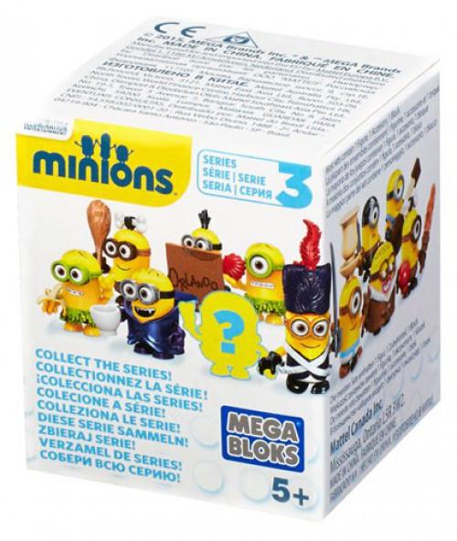 Mega Bloks Mystery Minions Series 3 Mystery Pack #38015 [1 RANDOM Figure]