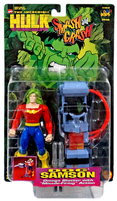 Marvel The Incredible Hulk Smash and Crash Doc Samson Action Figure