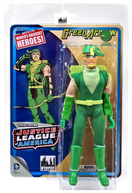 DC Justice League of America World's Greatest Heroes! Green Arrow Action Figure