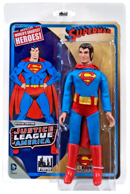 DC Justice League of America World's Greatest Heroes! Superman Action Figure