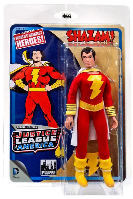 DC Justice League of America World's Greatest Heroes! Shazam! Action Figure