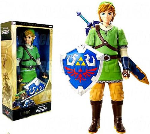 World of Nintendo Legend of Zelda Link Exclusive 20-Inch Big Deluxe Figure [Skyward Sword Variant]