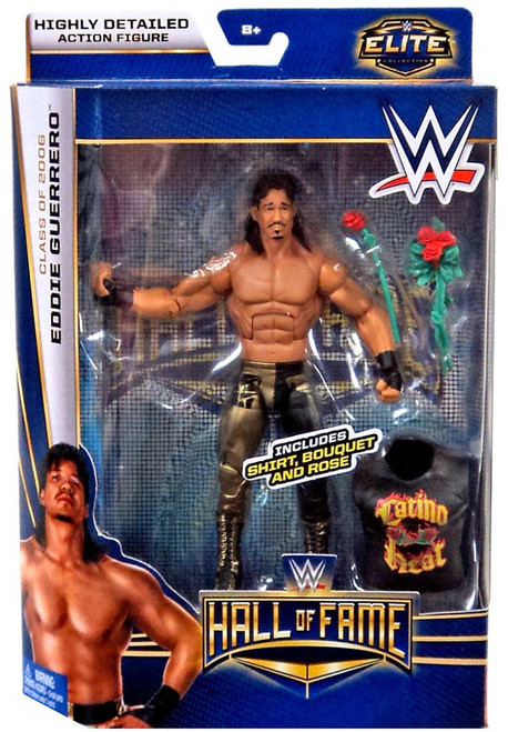 WWE Wrestling Elite Collection Hall of Fame Eddie Guerrero Action Figure [Shirt, Bouquet & Rose]