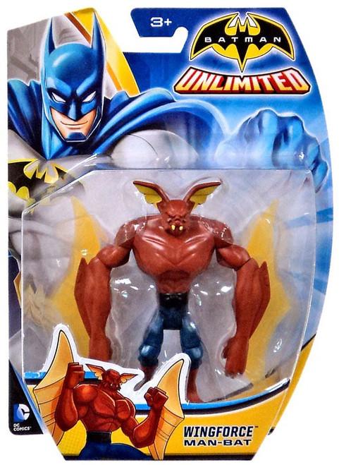 Batman Unlimited Wingforce Man-Bat Action Figure