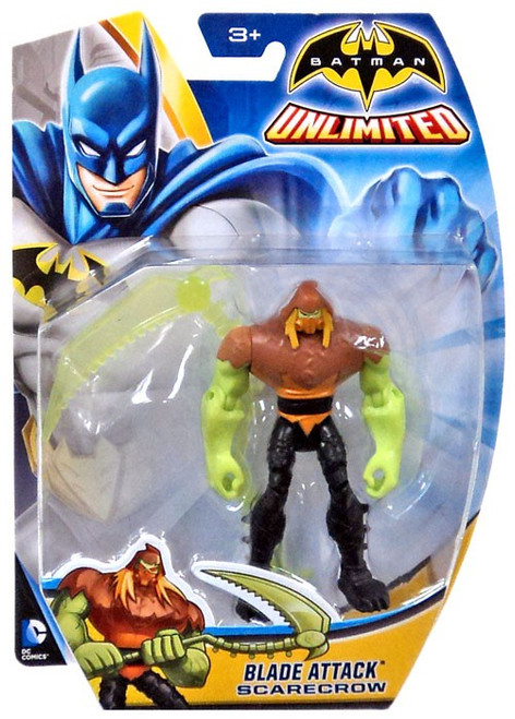 Batman Unlimited Blade Attack Scarecrow Action Figure