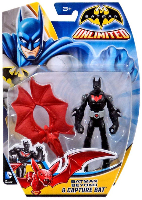 Unlimited Batman Beyond & Capture Bat Action Figure