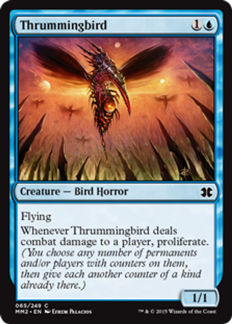MtG Modern Masters 2015 Common Foil Thrummingbird #65