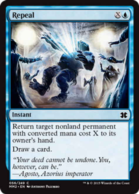 MtG Modern Masters 2015 Common Foil Repeal #56