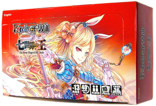 Force of Will Alice Cluster Set 1 The Seven Kings of the Lands Booster Box [36 Packs]